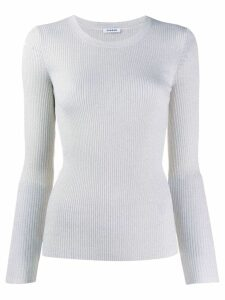 P.A.R.O.S.H. ribbed knit jumper - NEUTRALS
