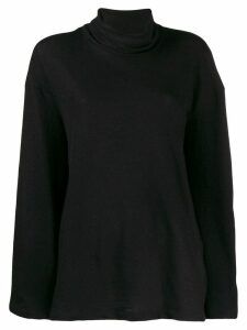 The Row Zalani turtleneck sweater - Black