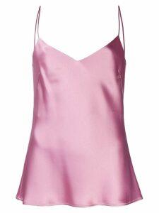 Galvan V-neck slip camisole - Pink