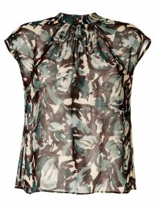 Tomorrowland all-over print blouse - Green