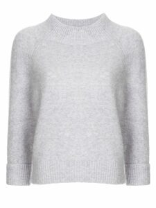 3.1 Phillip Lim cropped jumper - PURPLE