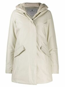 Woolrich padded parka coat - White