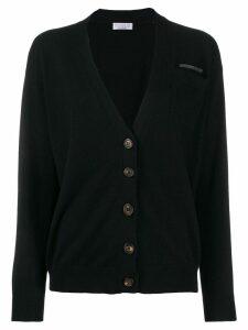 Brunello Cucinelli cashmere cardigan - Black