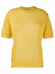 Prada short sleeved sweater - Yellow