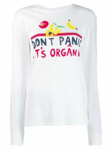 Être Cécile Don't Panic It's Organic top - White
