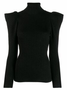 P.A.R.O.S.H. turtleneck sweatshirt - Black