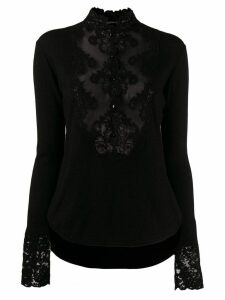 Ermanno Scervino lace blouse - Black