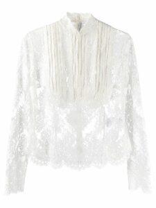 Ermanno Scervino victorian lace blouse - White