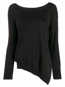 P.A.R.O.S.H. curved sweatshirt - Black