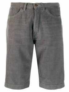 6397 corduroy knee-length shorts - Grey
