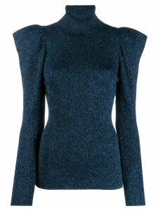 P.A.R.O.S.H. turtleneck sweatshirt - Blue
