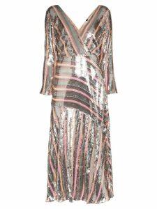Rixo Tyra sequinned dress - PINK