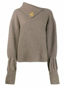 JW Anderson ribbed jumper - NEUTRALS