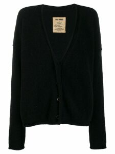 Uma Wang loose-fit knit cardigan - Black