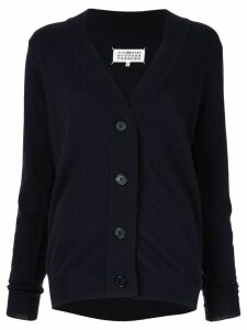Maison Margiela v-neck cardigan - Black