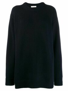 The Row cashmere sweatshirt - Blue