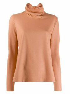 Forte Forte turtleneck top - Orange