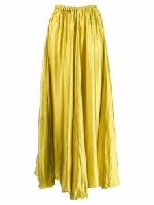 Forte Forte satin maxi skirt - Yellow
