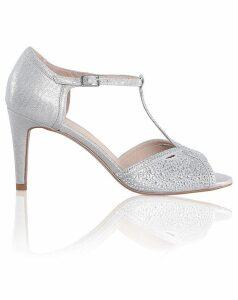 Perfect Luna Shimmer Metallic Sandals