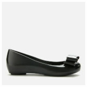 Vivienne Westwood for Melissa Women's Ultragirl 22 Ballet Flats - Black Bow Orb - UK 8 - Black