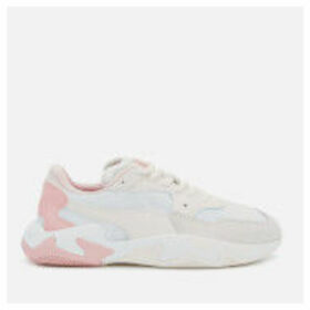 Puma Women's Storm Origin Trainers - Pastel Parchment/Puma White - UK 6 - Cream