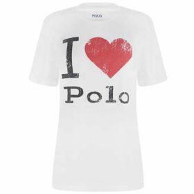 Polo Ralph Lauren Heart Polo T Shirt