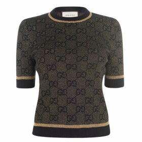 Gucci Gg Lurex Top