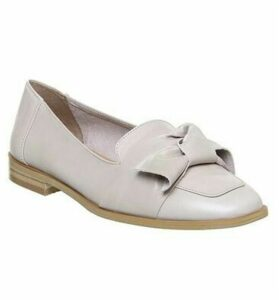 Office Filly Bow Loafer TAUPE LEATHER