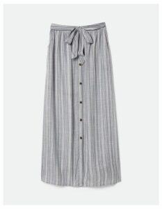 Fat Face Maya Stripe Maxi Skirt