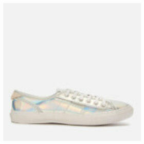 Superdry Women's Low Pro Luxe Trainers - Silver - UK 8
