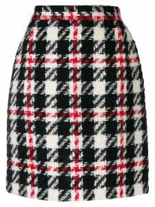 Dolce & Gabbana Pre-Owned 1990's check mini skirt - Black