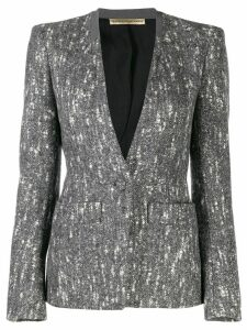 Balenciaga Pre-Owned 2000's marled blazer jacket - Grey