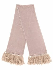 Giorgio Armani Pre-Owned '1990s knit scarf - Pink