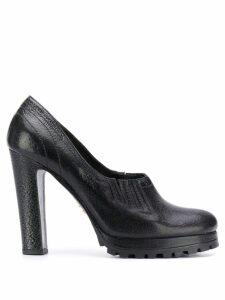 Prada Pre-Owned 1990's platform shoes - Black