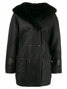 A.N.G.E.L.O. Vintage Cult 1980's shearling coat - Black