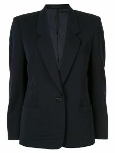 Burberry Pre-Owned long sleeve jacket - Blue
