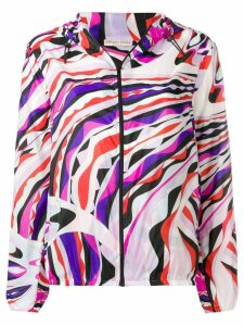 Emilio Pucci Burle Print Zip Jacket - PINK