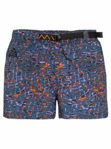 Nike printed running shorts - Blue