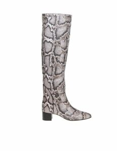 Giuseppe Zanotti Doreen Leather Boot With Python Print