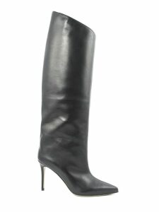 Alexandre Vauthier Alex Knee-high Boots In Black Leather