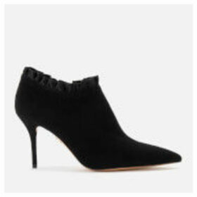 Charlotte Olympia Women's Satin Heeled Shoe Boots - Black
