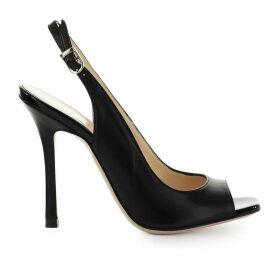 Marc Ellis Black Leather Sandal