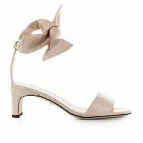 Grey Mer Ivy Pink Leather Sandal