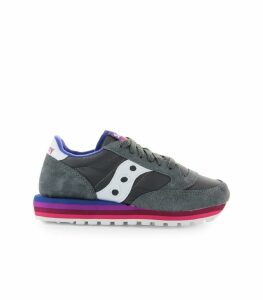 Saucony Jazz O Rainbow Charcoal Purple Sneakers