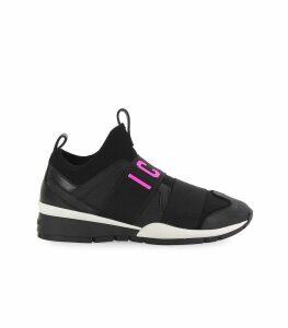 Dsquared2 Black Fuchsia Neoprene Icon Sneaker