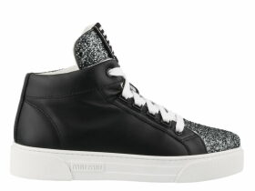 Miu Miu Hi-top Sneakers With Glitter