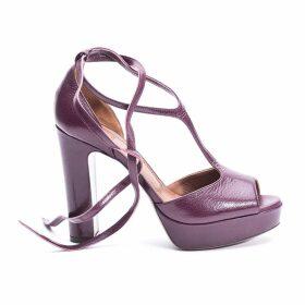 Lautre Chose Leather Sandals