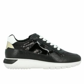 Hogan Sneakers Cube Hogan Sneakers In Leather And Sequins With H And Sport Sole