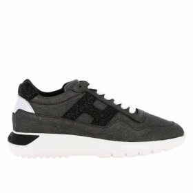 Hogan Sneakers Cube Hogan Sneakers In Laminated Leather With Sport Sole