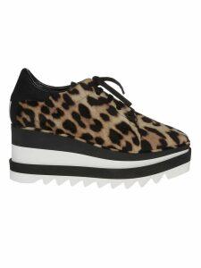 Stella McCartney Leopard Platform Sneakers